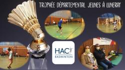 Trophée départemental jeunes à Luneray